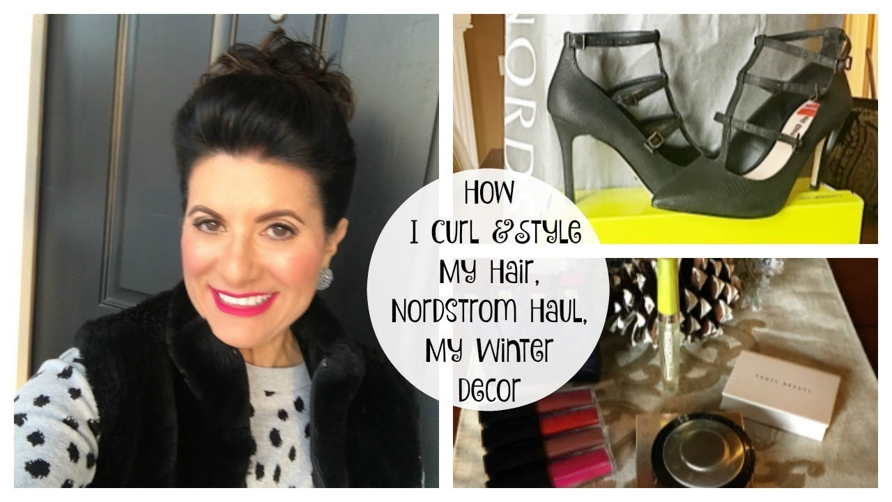 a13192bc81d Lauren s Vlog  How I Curl   Style My Hair