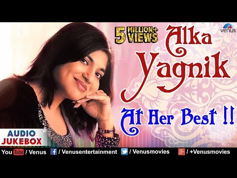 Alka Yagnik : At Her Best  Best Hindi Songs  90s Bollywood Romantic Songs  Audio Jukebox