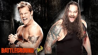 WWE Battleground 2014 Chris Jericho vs Bray Wyatt pg