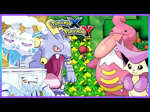 Pokemon X & Y - How To Get Lickilicky,Delcatty,Exploud,Vanilluxe & Avalugg
