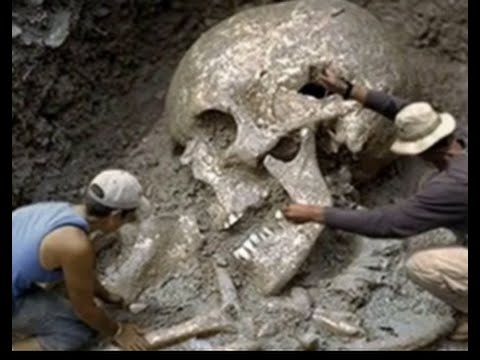 giant human bones found! giants of america! skeletons found, Skeleton
