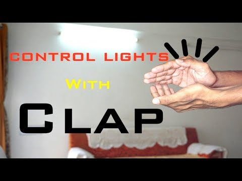 How To Make A Clap Switch | Control Light & Fan With Clap using Arduino | Indian LifeHacker