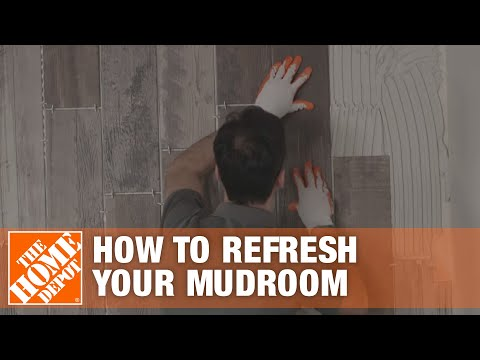 How to Refresh Your Mudroom with Wood Look Tile: Overview   The Home Depot