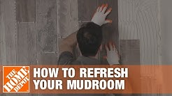 How to Refresh Your Mudroom with Wood Look Tile: Overview