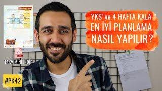 #PK42 YKS'ye 4 Hafta Kala En İyi Planlama Nasıl yapılır?