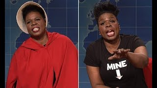 Leslie Jones blasts abortion ban on SNL in Handmaid's Tale costume