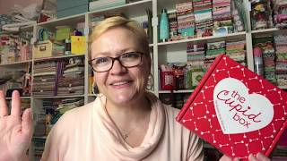 The [limited edition] Cupid Box EXCLUSIVELY by Fat Quarter Shop #cupidbox #fatquartershop