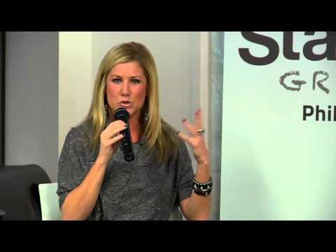 Jen Groover (Empowered) at Startup Grind Philadelphia