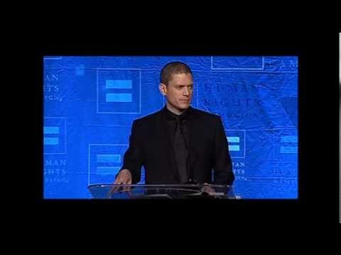 Wentworth Miller Talks About Coming Out, Overcoming Struggles at HRC Dinner
