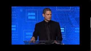 wentworth miller talks about coming out overcoming struggles at hrc dinner