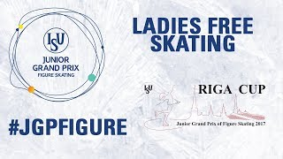 Riga | Ladies Free Skating RIGA 2017