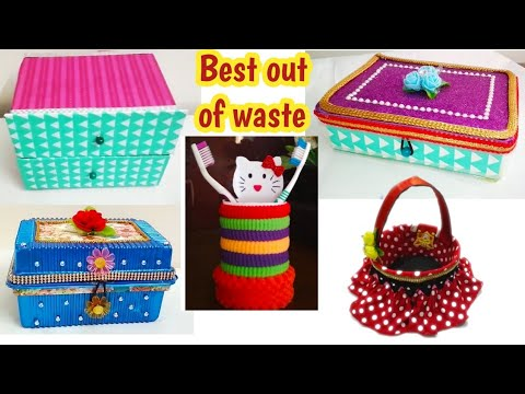 Download Video Waste Material Craft Ideas Fold Able Hand Fan