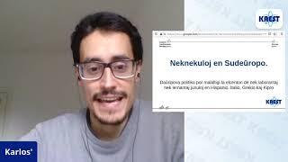 Neknekuloj en Sudeŭropo – Carlos Pesquera Alonso | KAEST 2020