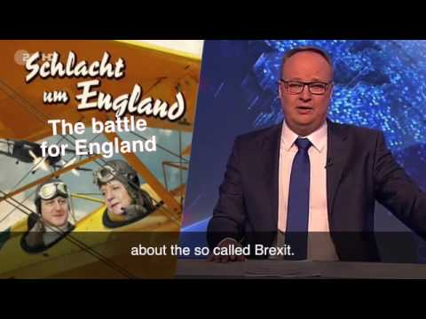 German comedians mock Britain's 'horse faced Queen' and joke about our 'backwardness' in bizarre Bre
