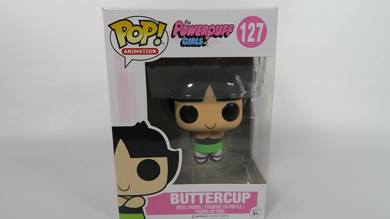 Powerpuff Girls Vinyl Figure NEW Funko Buttercup Pop