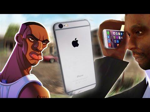 IPHONE 6 SILVER MODU (GTA San Andreas)