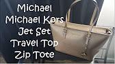 8 23 · Do you love Michael Kors Jet set top zip tote like I do  - Duration   ... c929f732f4