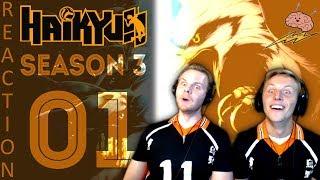 SOS Bros React - Haikyuu Season 3 Episode 1 - The Finals!
