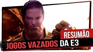 Resumão: Jogos Vazados da E3, Thanos no Fortnite, Steam Link e muito mais! Game Over
