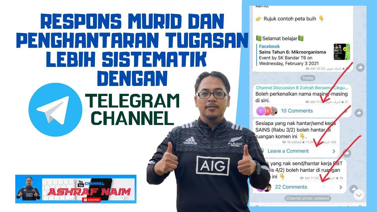 Download Guna Telegram sebagai medium PdPR? Pening banyak sangat PM tepi?