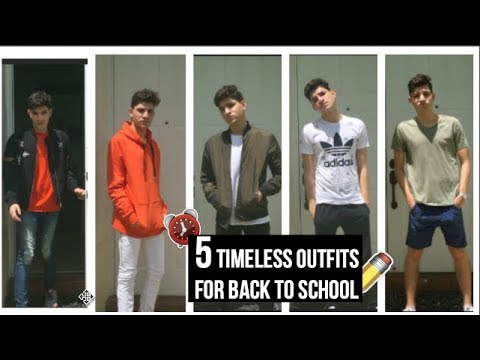 5 Timeless Outfits For Back To School 2017 (04)