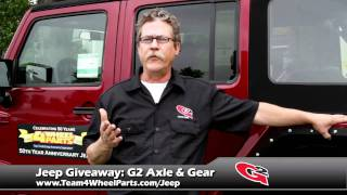 g2 axle gear joins the 50th anniversary jeep project