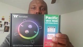 Ryzen &Thermaltake Pacific W4 RGB