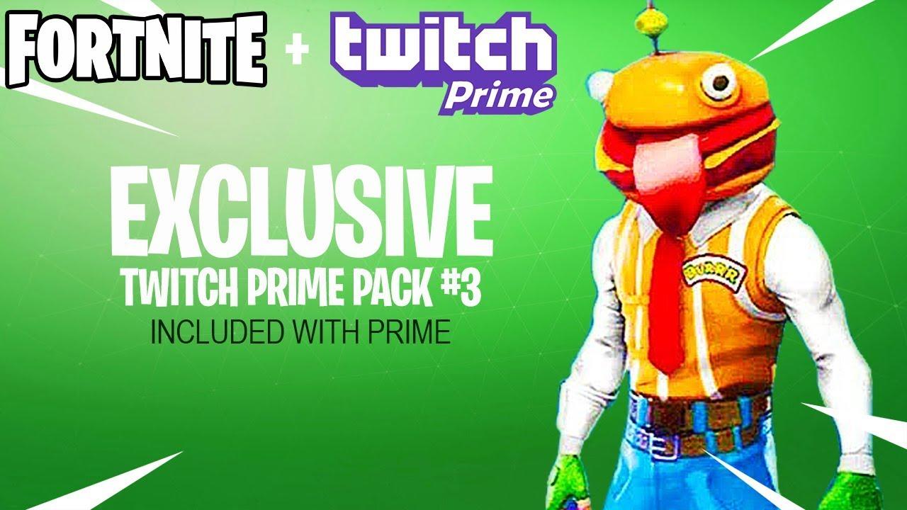 Fortnite Twitch Prime Pack #3 Skins LEAKED