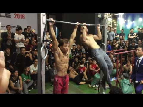 Final Cuong vs Huy Hanoi Street Workout Battle 2016