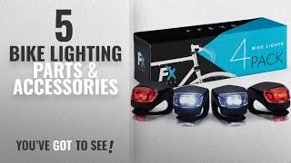 Top 10 Bike Lighting Parts & Accessories [2018]: Bike Lights Front and Back - Bike Lights Set of