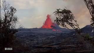 Kīlauea Volcano — Fissure 7 Activity