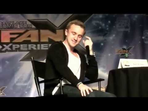 Tom Felton (Draco Malfoy) @ Comic Con Part 2