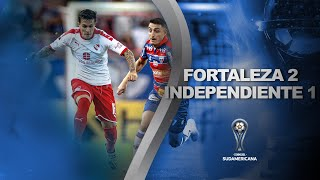 Fortaleza vs. Independiente [2-1] | GOLES | Primera Fase (Vuelta) | Sudamericana 2020
