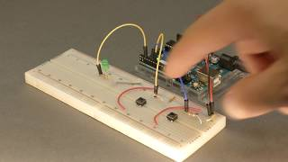 Add a switch to your Arduino project with a