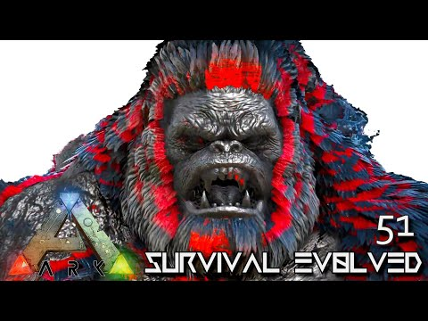 ARK: SURVIVAL EVOLVED - CHAOS GUARDIAN & CHAOS MEGAPITHECUS !!! | PRIMAL FEAR ISO CRYSTAL ISLES E51