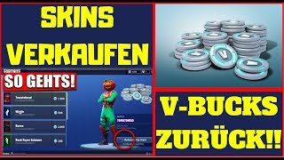 SKINS SALE/RETURN (ALSO WITHOUT TICKETS) FORTNITE BATTLE ROYALE [TUTORIAL]