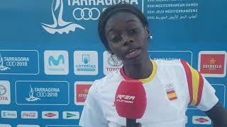 tarragona2018 fatima diame bronce en triple