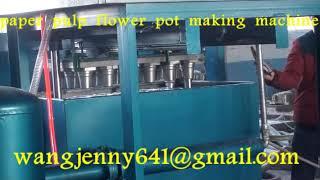 fully automatic flower pot making machinery whatsapp:0086-15153504975