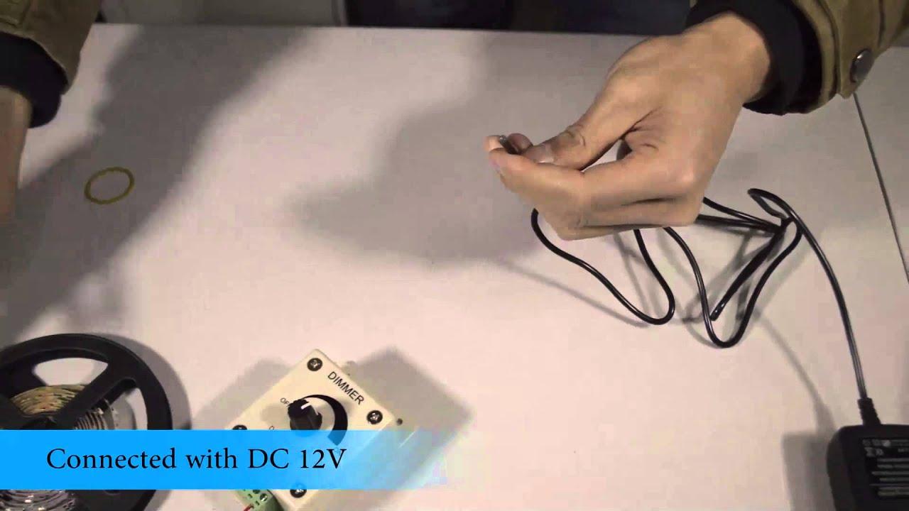 Controller Dimmer Regler für LED Strip /Band/Streifen - YouTube
