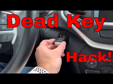 How to Replace Key Fob Battery – Jeep Cherokee