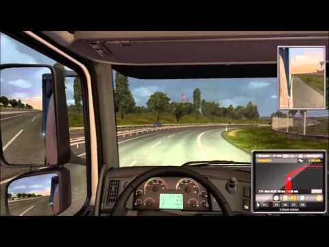 Let's Play Euro Truck Simulator 2 - 024 Geneve - Bern