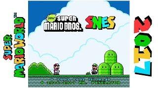 New Super Mario Bros. SNES • Hack of Super Mario World
