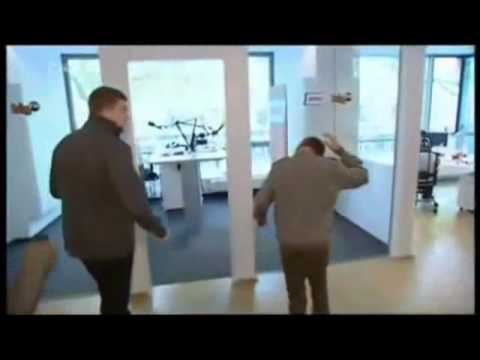Justin Bieber walk into glass wall door 2nd time! YouTube ...