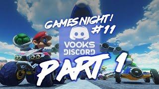 Vooks Discord Game Night (252) - Mario Kart 8! - Part 1
