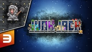 Junk Jack X | Let's Play | Episode: 3 Iron Plated Portal Finder!