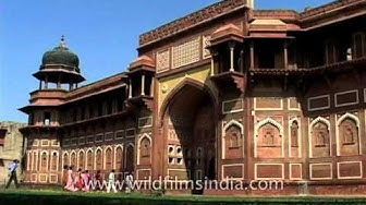 Jahangiri Mahal, the most noteworthy building inside the Agra Fort