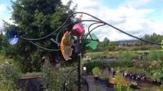 Whirligigs - Garden Art with Colour and Movement