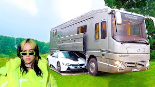Download CELEBRITIES SHOW THEIR LUXURY MOTOR HOMES