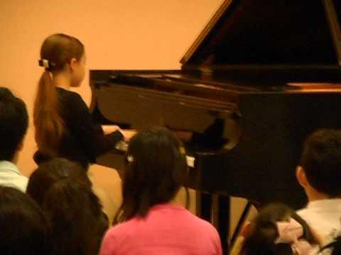 Kate Krehel- Central NJ Piano Techers Forum Honors Recital performing Crystal Falls