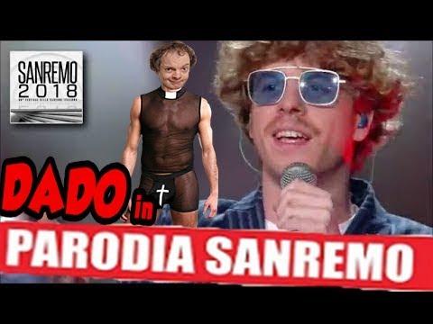 """Lo Stato Sociale - """"Una vita in vacanza"""" - Sanremo 2018 - DADO PARODIA"""